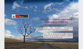 Educación, cultura y ciudadanía ambiental en el MINAM