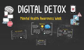 Mental Health: Digital Detox