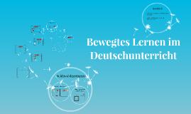 Kopie von Bewegtes Lernen im Deutschunterricht