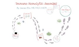 Immune Hemolytic Anemia