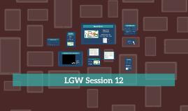 LGW Session 12 2016