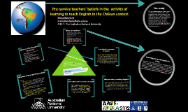 EFL pre-service teachers' beliefs as an activity in the Chilean context