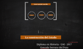 Copy of La construcción del Estado