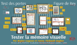 Tester la mémoire visuelle