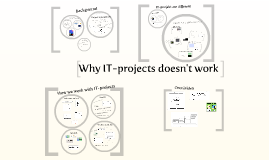 Why doesn't IT-project work?