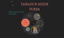 Copy of TAMADUN MESIR   PURBA