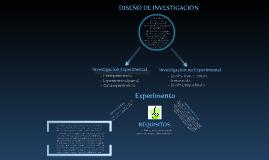 Diseños experimentales de investigación