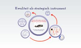 BdB Kwaliteit als strategisch instrument