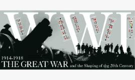 Copy of WWI Timeline