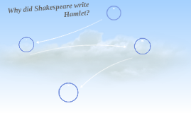 Why did Shakespeare write Hamlet?