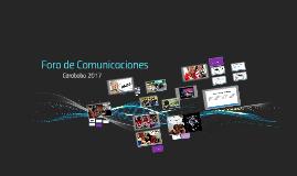 Foro de Comunicaciones