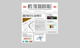 NPS: THE GOLDEN RULE