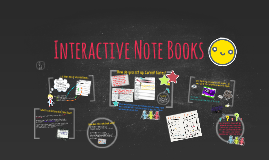 Copy of Interactive Note Books