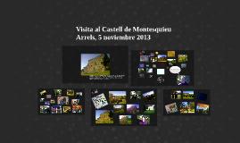 Visita al castell de Montesquieu