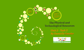 The Physical and Technological Resources