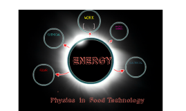 Physics in Food Technology