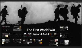 11 The First World War