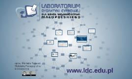 Laboratorium Dydaktyki Cyfrowej