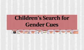 Children's Search for Gender Cues