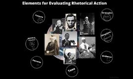 Elements of Rhetorical Action