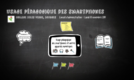 Copy of Usage pédagogique des smartphones en classe - CA