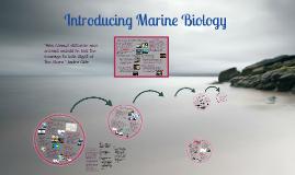 Marine Biology - History Ch.1