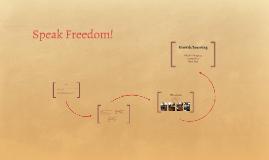 Speak Freedom!