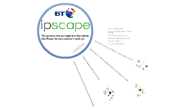 IPscape - How it WORKS