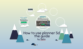 Guide how to use planner 5D