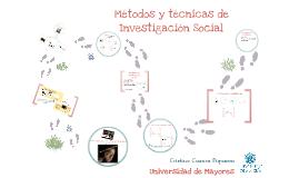 Técnicas de investigación social. Universidad de Mayores