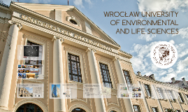 Wroclaw University of Environmental and Life Sciences  09 2015