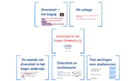 Diversiteit in het Hoger Onderwijs (1)