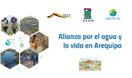 Proyecto de agua para Arequipa