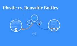 Plastic Bottles vs. Reusable bottles