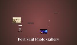 Port Said Photo Gallery