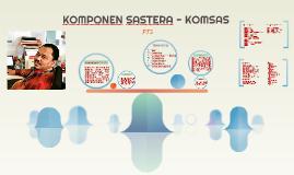 KOMPONEN SASTERA - KOMSAS