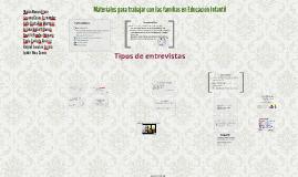 Copy of Materiales para trabajar con las familias en Educación Infan