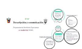 Descripción y comunicación