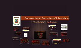 Documentação da Subunidade