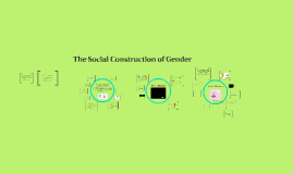 Week 3: The Social Construction of Gender