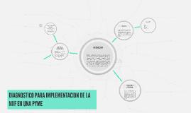 Copy of DIAGNOSTICO PARA IMPLEMENTACION DE LA NIIF EN UNA PYME