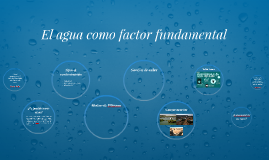 Copia de Copy of El agua como factor fundamental