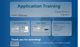 Copy of Application Training