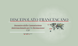DISCEPOLATO FRANCESCANO