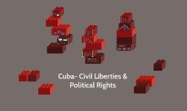 Copy of Cuba- Civil Liberties & Political Rights
