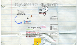 Copy of AP Government & Politics