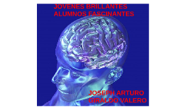 Copy of JOVENES BRILLANTES