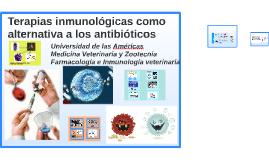 Terapias inmunogénicas como alternativa a los antibióticos