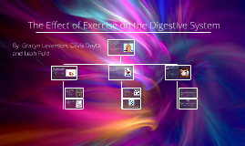 Copy of The effect of exercise on the digestive system