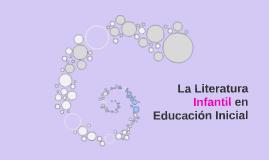 La Literatura Infantil en Educación Inicial